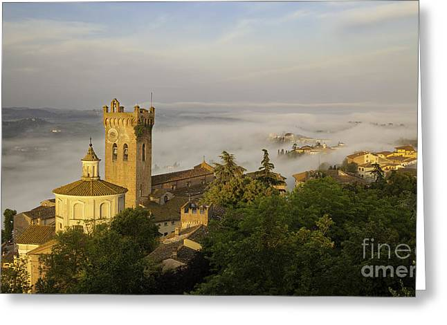 San Miniato Dawn Greeting Card by Brian Jannsen