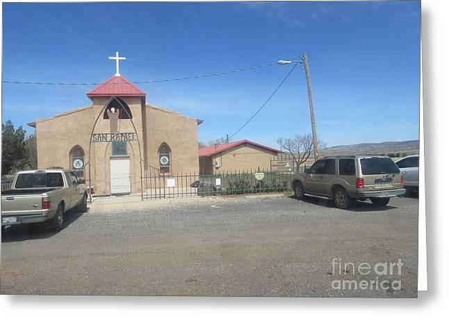 San Rafael Church Greeting Cards - San Rafael Church Greeting Card by Frederick Holiday