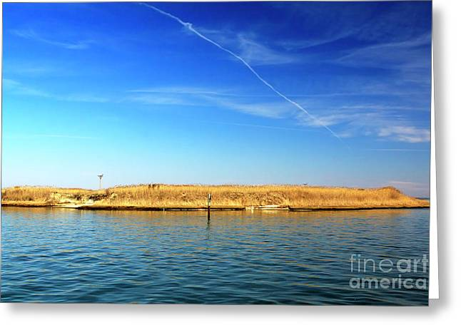 Recently Sold -  - Ocean Photography Greeting Cards - Sanctuary Greeting Card by John Rizzuto