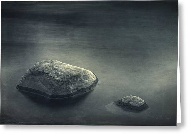 Sand And Water Greeting Card by Scott Norris