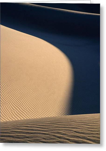 Sand Design In Death Valley National Park Greeting Card by Pierre Leclerc Photography