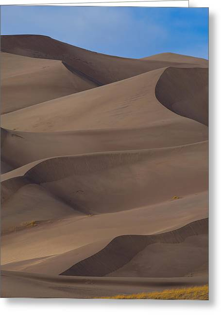 Great Sand Dunes Greeting Cards - Sand Dunes Greeting Card by Noah Bryant