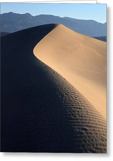 Sand Sculptures In Death Valley Greeting Card by Pierre Leclerc Photography