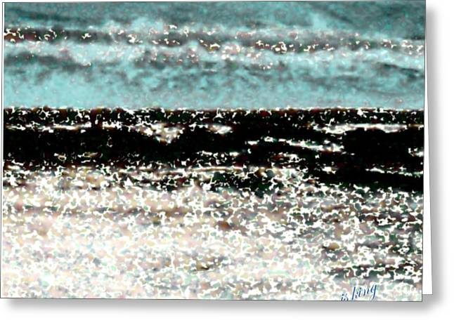 Beach Photos Greeting Cards - Sand Shell Sea Shore Greeting Card by Jacquie King