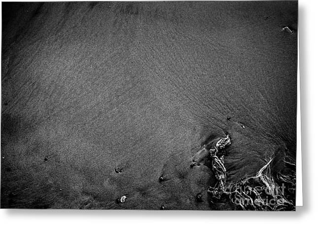 Sand, Stones, And String Greeting Card by James Aiken