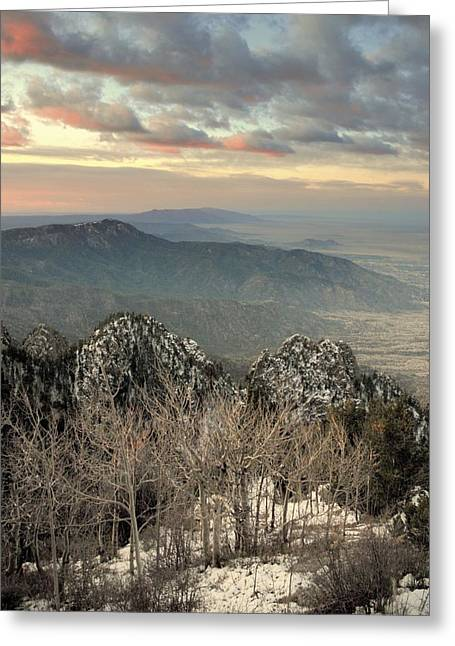 Sandias Greeting Cards - Sandia happening.. Greeting Card by Al  Swasey