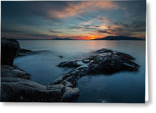 Best Ocean Photography Greeting Cards - Sandstone Neck Greeting Card by Ryan McGinnis