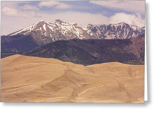 """commercial Photography Art Prints"" Greeting Cards - Sangre de Cristo Mountains and The Great Sand Dunes Greeting Card by James BO  Insogna"