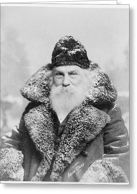Santa Claus 1895 Greeting Card by David Bridburg