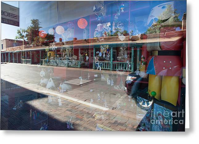 Special Occasion Greeting Cards - Santa Fe Reflections Greeting Card by Roselynne Broussard