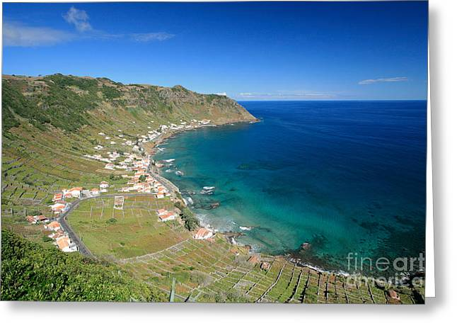 Azores Greeting Cards - Santa Maria Azores II Greeting Card by Gaspar Avila