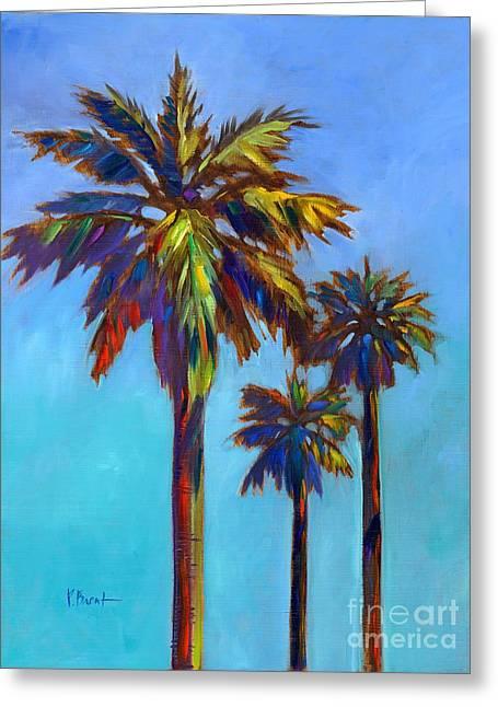 Tye Greeting Cards - Santa Rita Palm I Greeting Card by Paul Brent