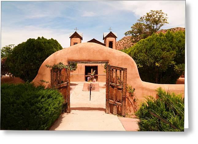 Southwestern Photography Greeting Cards - Santo Nino de Atocha Chimayo New Mexico Greeting Card by Jeff  Swan