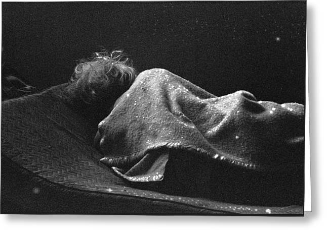 Drug House Greeting Cards - Portraits Of Poverty 1988-1997 Greeting Card by Michael L Kimble