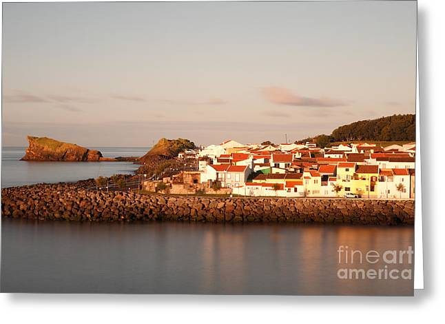 Sao Roque at sunrise Greeting Card by Gaspar Avila