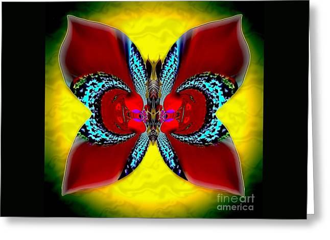 Pyramids Greeting Cards - Sapphire Willowcreek Greeting Card by Raymel Garcia