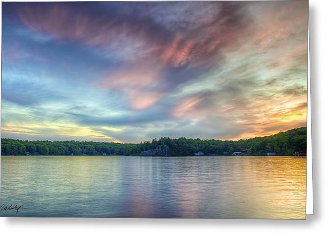 Photographic Images Greeting Cards - Saturday Night in Muskoka Greeting Card by Phill  Doherty