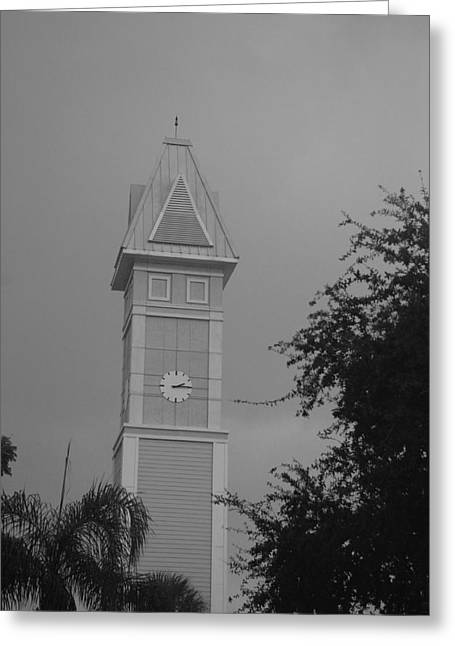 Save The Clock Tower Greeting Card by Rob Hans