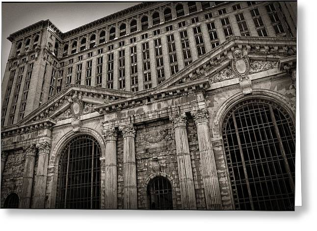 Save The Depot - Michigan Central Station Corktown - Detroit Michigan Greeting Card by Gordon Dean II