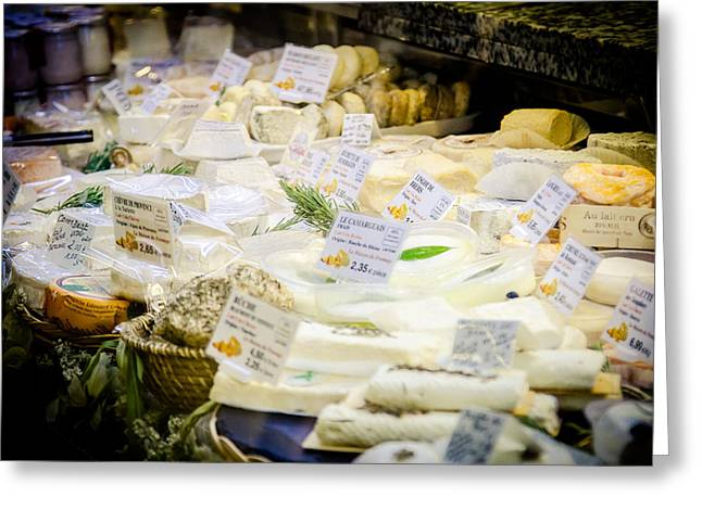 Grocery Store Greeting Cards - Say Cheese Greeting Card by Jason Smith