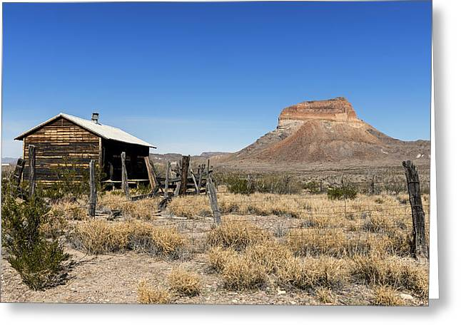 Recently Sold -  - Beautiful Scenery Greeting Cards - Scenic Big Bend National Park in Texas Greeting Card by Mountain Dreams