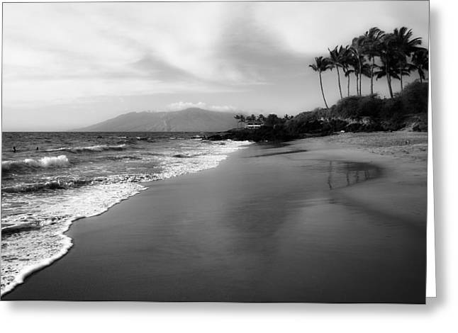 Swimmers Greeting Cards - Scenic Hawaii Greeting Card by Dan Orchard