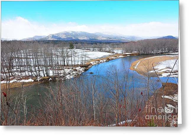 North Conway Greeting Cards - Scenic View  Greeting Card by Catherine Reusch  Daley