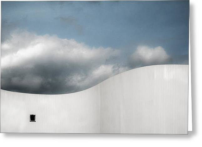 White Photographs Greeting Cards - Schauspielhaus Greeting Card by Gilbert Claes