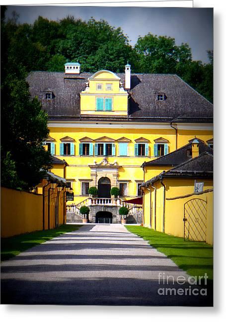 Schloss Hellbrunn Greeting Card by Carol Groenen