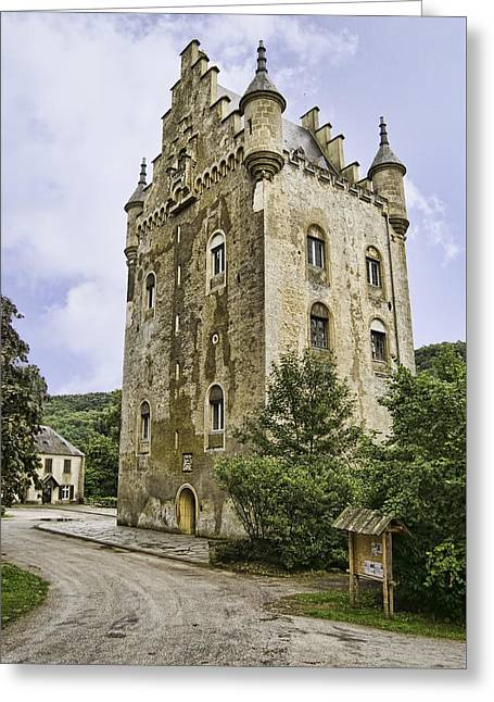 The Trees Greeting Cards - Schoenfels Castle Greeting Card by Phyllis Taylor