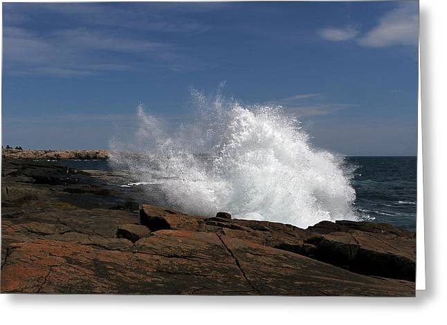 Down East Greeting Cards - Schoodic Point in Acadia National Park Greeting Card by Juergen Roth