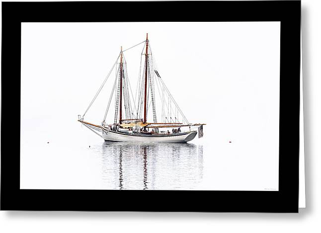 Schooner Greeting Cards - Schooner American Eagle Greeting Card by Marty Saccone