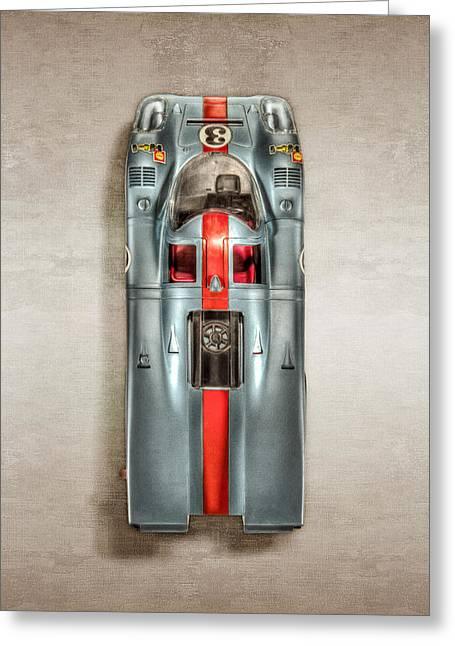 Schuco Porsche 917 Top Greeting Card by YoPedro