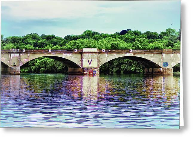 Schuylkill River Greeting Card by Bill Cannon