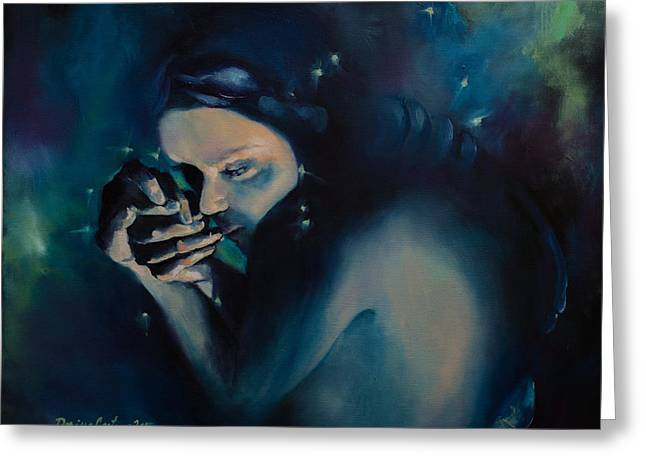 Astral Greeting Cards - Scorpio Greeting Card by Dorina  Costras