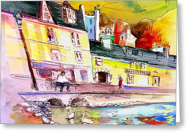 Scotland 04 Greeting Card by Miki De Goodaboom