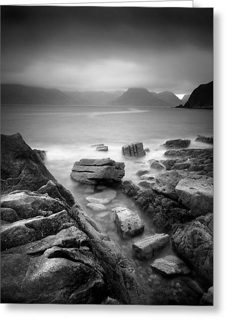 Isle Greeting Cards - Scotland Elgol Greeting Card by Nina Papiorek