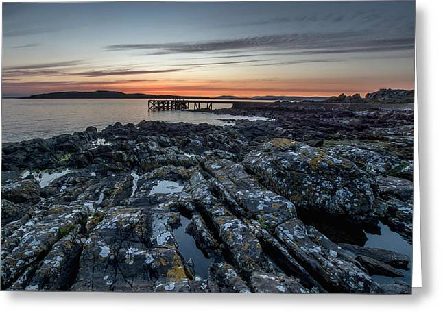 Frith Greeting Cards - Scottish Coast Greeting Card by Sam Smith Photography