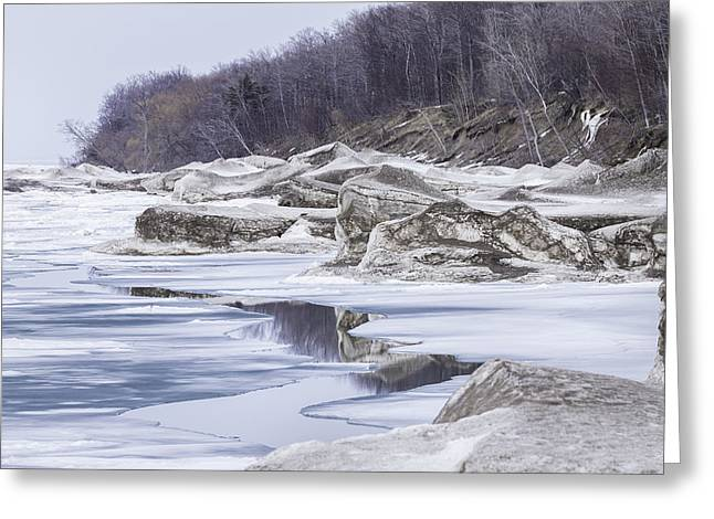 Lake Ontario Greeting Cards - Sculptures of the Wind Greeting Card by Everet Regal