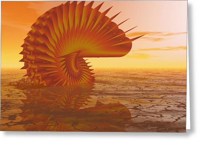 Gina Lee Manley Greeting Cards - Sea Creature Greeting Card by Gina Lee Manley