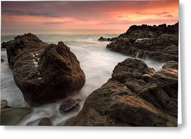 Pch Greeting Cards - Sea Drama Greeting Card by Dennis Chamberlain