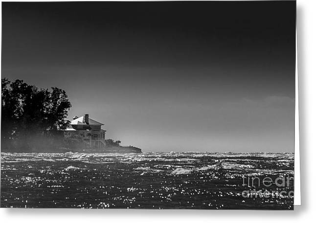 Sea Mist Greeting Card by Marvin Spates
