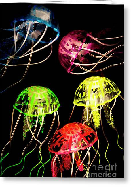 Sea Of Colours Greeting Card by Jorgo Photography - Wall Art Gallery