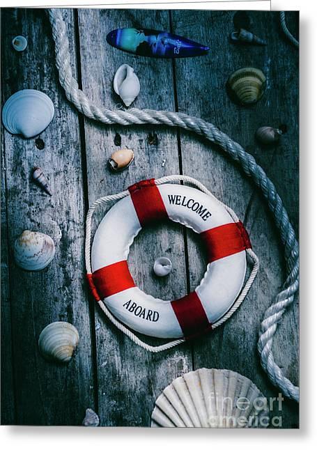 Sea Of Turbulence Greeting Card by Jorgo Photography - Wall Art Gallery