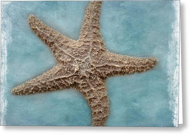 Sea Star Greeting Card by David and Carol Kelly