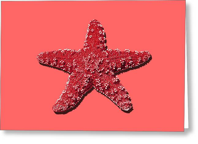 Sea Star Red .png Greeting Card by Al Powell Photography USA