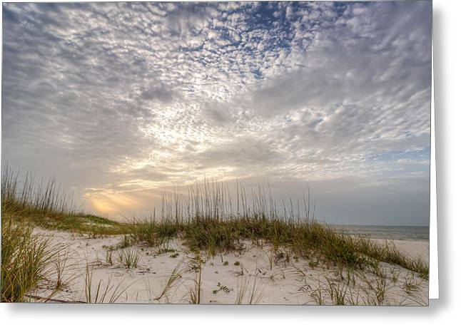 Surreal Landscape Greeting Cards - Sea The Light Greeting Card by Gary Oliver