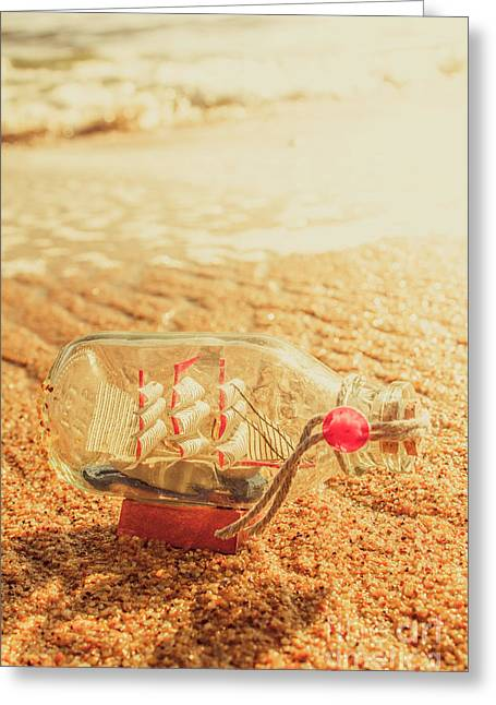 Seafaring Scenes Greeting Card by Jorgo Photography - Wall Art Gallery