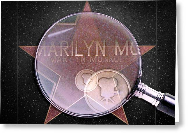 Movie Star Digital Greeting Cards - Searching For A Star Greeting Card by Az Jackson