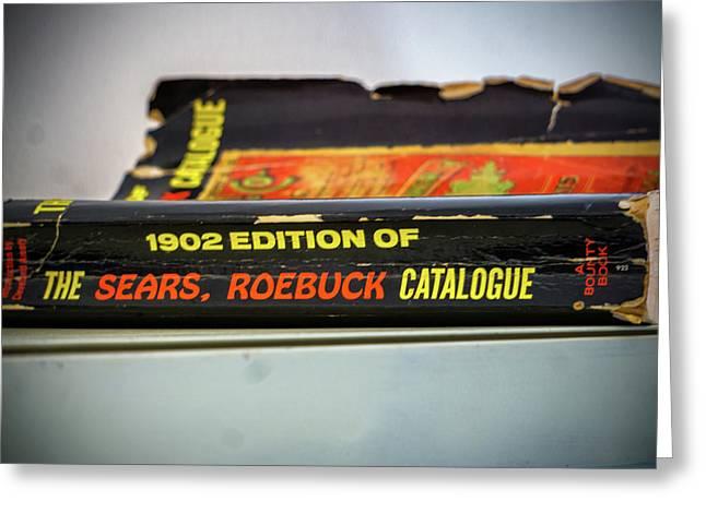 Sears,roebuck Cataoguel Greeting Card by Dennis Dugan